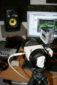 Binaural microphone - Inspektor Gadjet